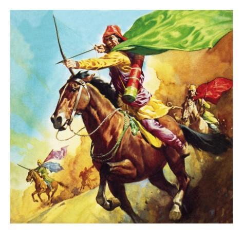 Parthian horse archer