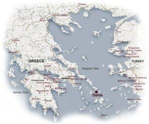 Map of Delos