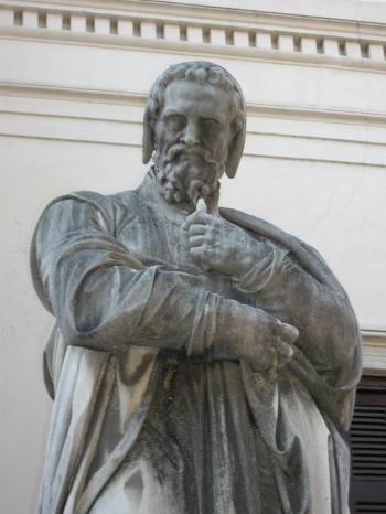anaximander statue