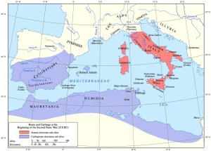 Map of Carthage Empire