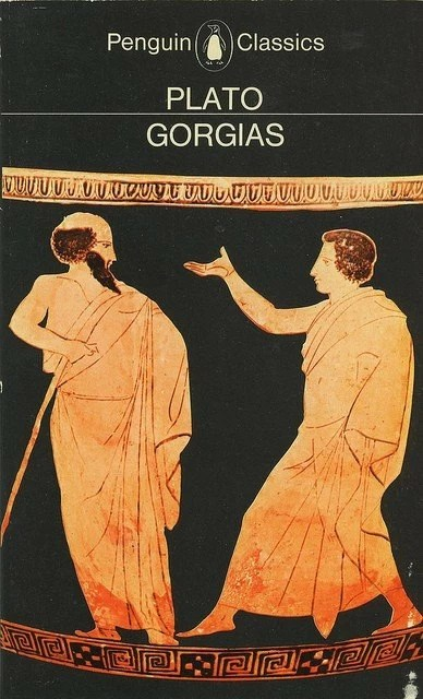 Illustration of Plato Gorgias