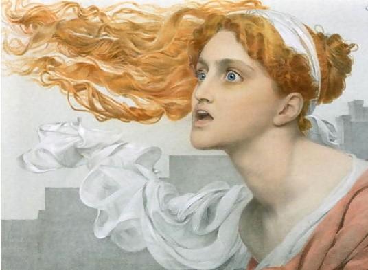Cassandra painting