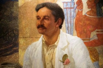 Painting of Sir Arthur Evans
