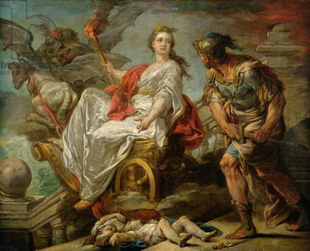 Medea with Jason