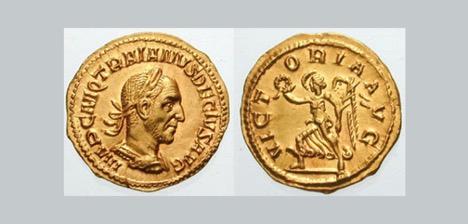 Coins depicting Roman Ruler
