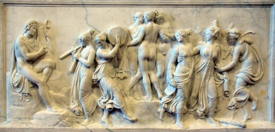 Sculpture of the Muses