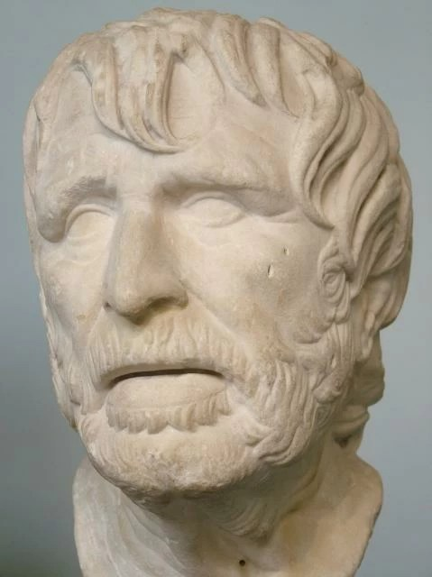 Sculpture of Hesiod