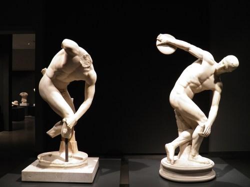 Roman Versus Greek Art