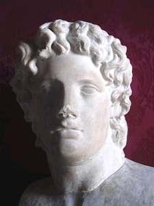 Sculpture of Greek Military man