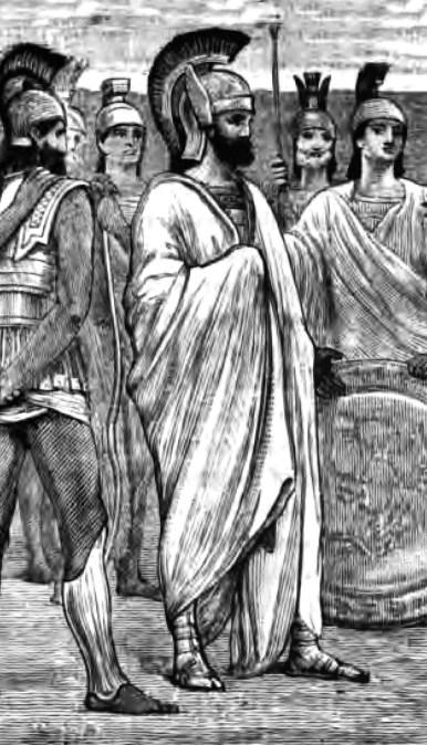 illustration of Xenophon's friend