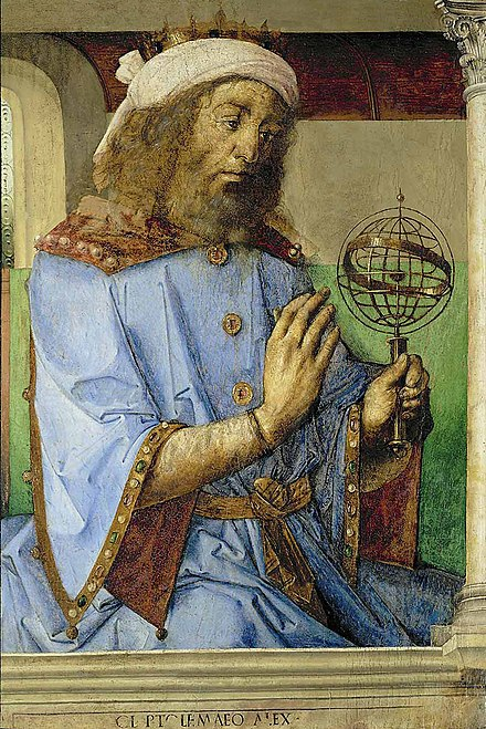 Painting of Ptolemy