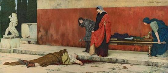 Death of Nero. Smirnov V.S.