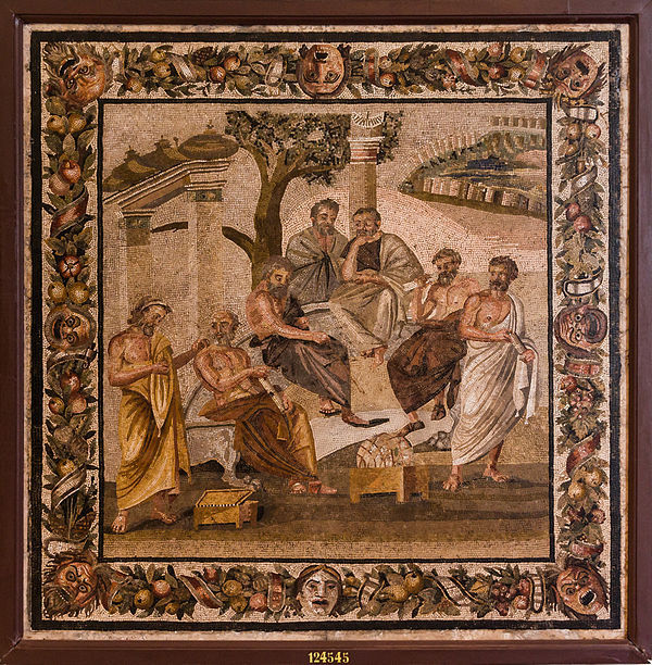 Mosaic of the Philosophers