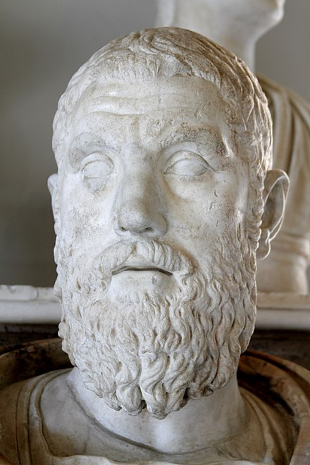 Bust of Macrinus