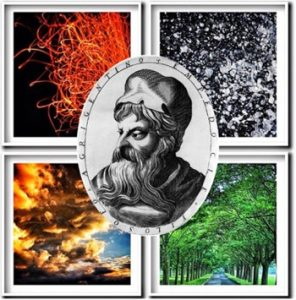 Empedocles' four elements/roots