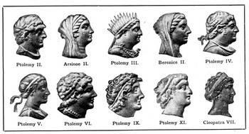 Ptolemy to Cleopatra