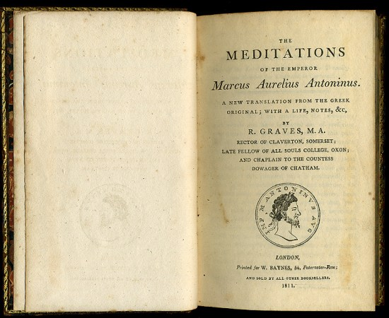 Meditations title page