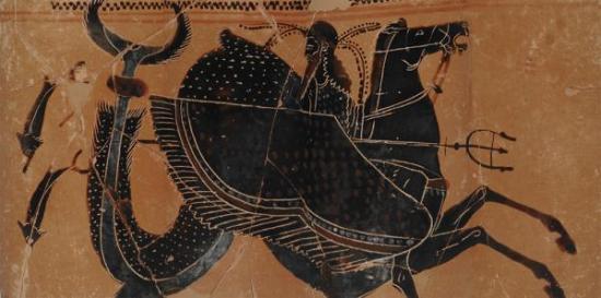 Poseidon and hippocamp