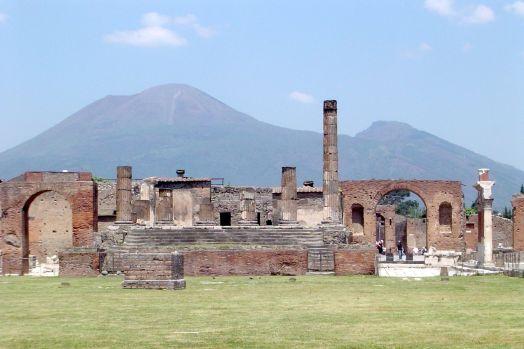 Pompeii Volcanic Eruption