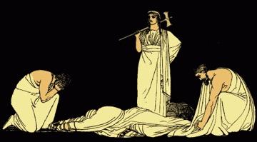 Agamemnon death