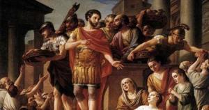 Aurelius and bread