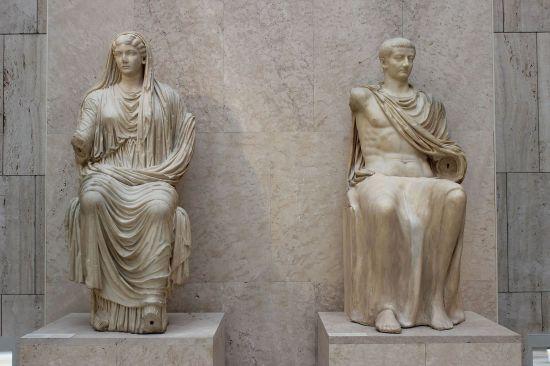 Livia and Tiberius