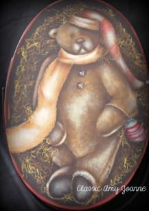Beaner Bear Bentwood Carrier