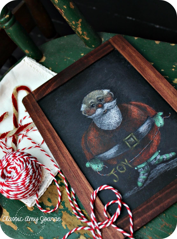 joyful jolly santa