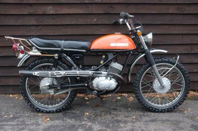 1 Suzuki TC120 TC 120 R 1970 For Sale