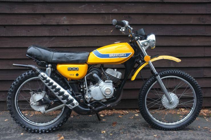 1 Suzuki TS100 TS 100 K Honcho For Sale