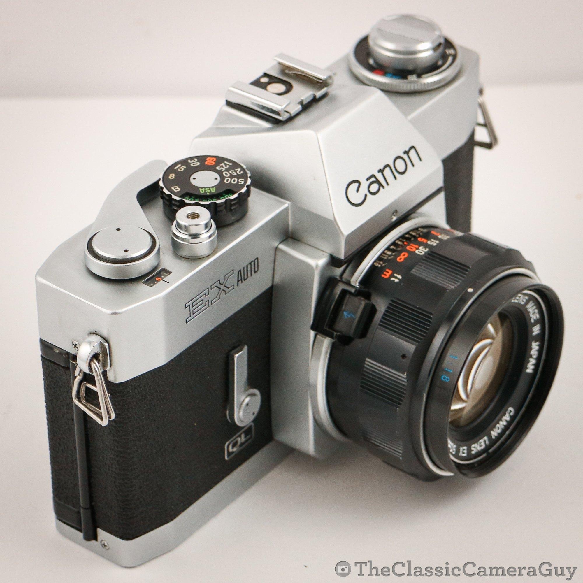 Analogkameras Canon Ex Auto Bedienungsanleiung