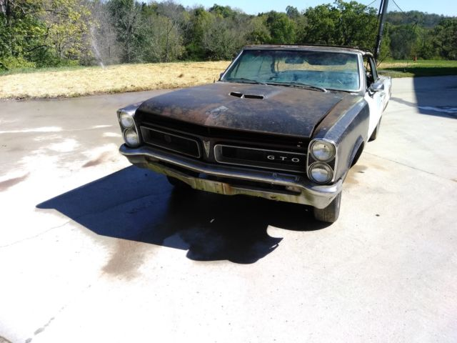 1965 GTO 4 Speed Tri-power Convertible For Sale: Photos