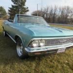 1966 Chevrolet Chevelle Malibu Convertible 2 Owner So Original Extremely Rare For Sale Photos Technical Specifications Description