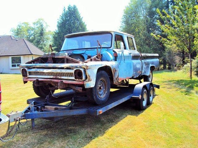 1966 Gmc Chevrolet Crew Cab Pickup 1964 1965 rat rod shop ...