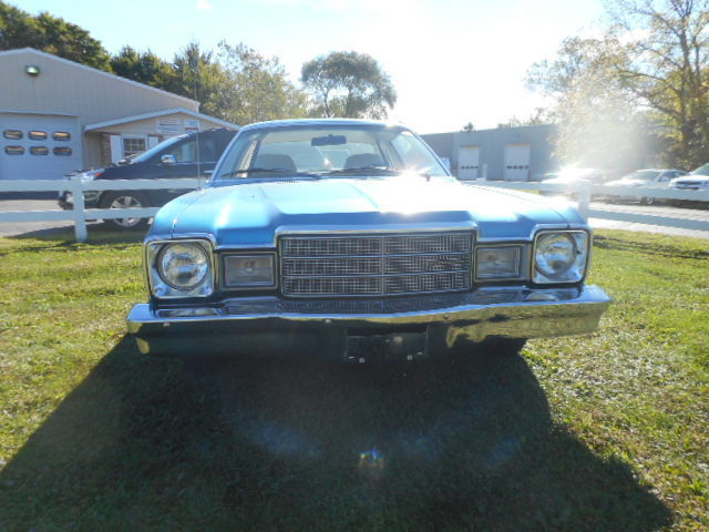 Plymouth Coupe Volare Door 2 1976