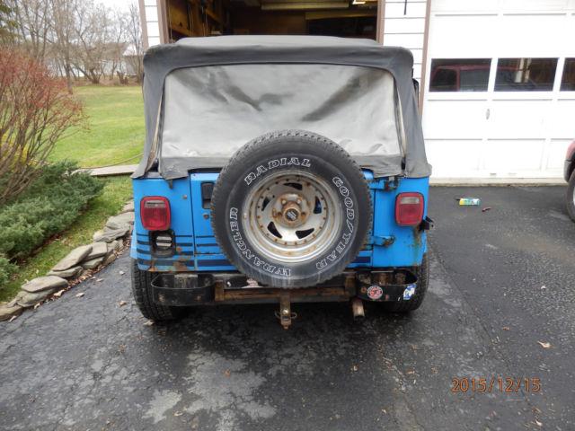 Jeep Wrangler 4x4 Yj Islander 4 2l Il6 5spd Man 2