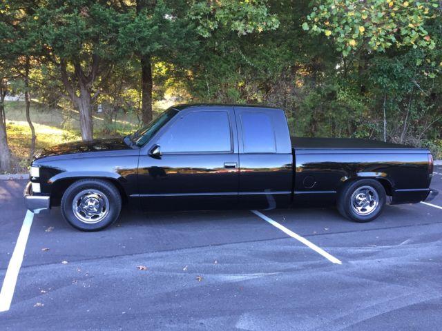 C1500 Black Truck Chevy Custom Pickup
