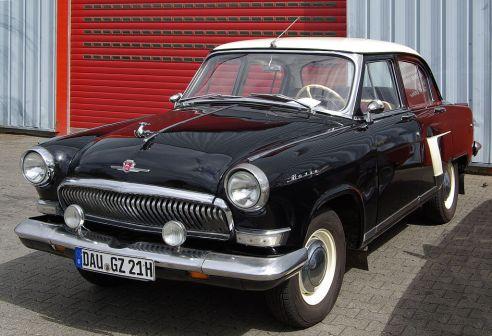 "Russia's ""red car"" Volga Automotive History"