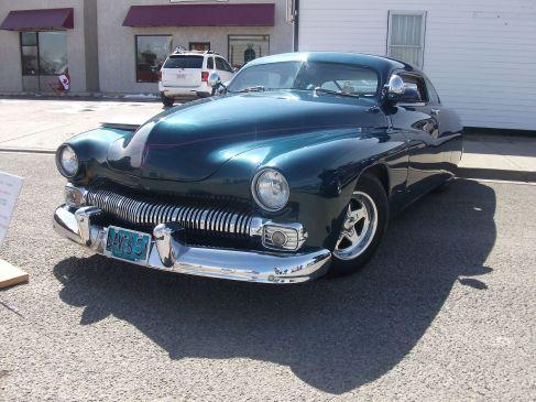 Custom 1951 Mercury Lead Sled