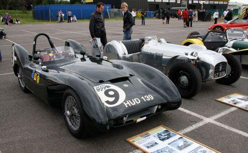 1955 Lotus Mk9 and Lotus 6