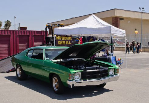 Great Classic Car Detailing Tips For Wheels And Engine: Chevrolet Chevelle