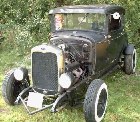 Automotive Batteries: 1930 Model A Ford
