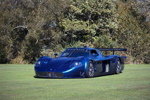 Blue Maserati MC12 Corsa