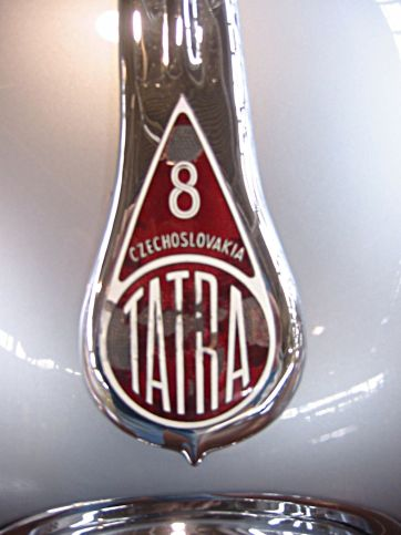 1947 Tatra T87 Saloon Front Nameplate