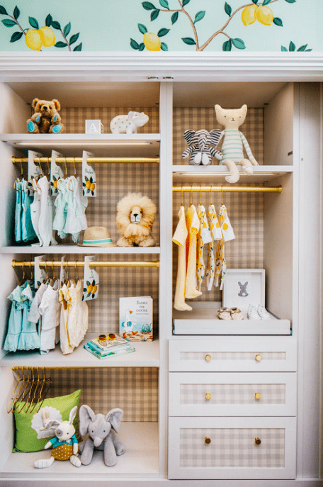 Gender neutral baby closet