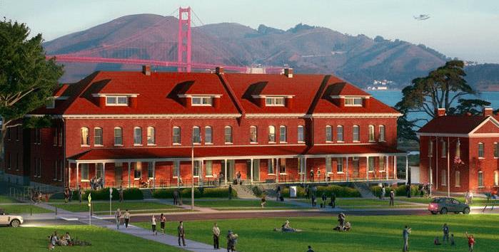 Boutique Hotel by The Golden Gate Bridge