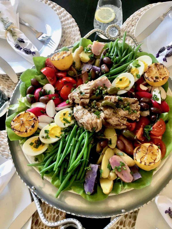 Grilled Ahi Tuna Salad Nicoise