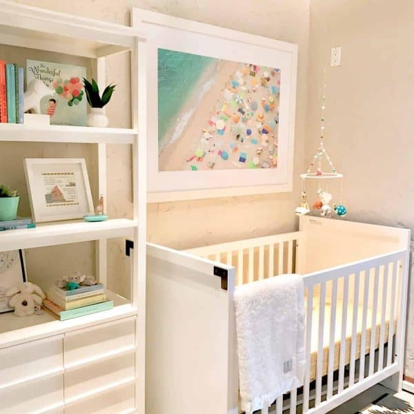 seven decorator styling tips, Neutral nursery