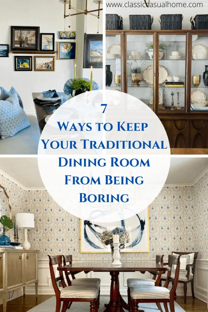 Tips to Refresh Your Dining Room From Mary Ann Pickett