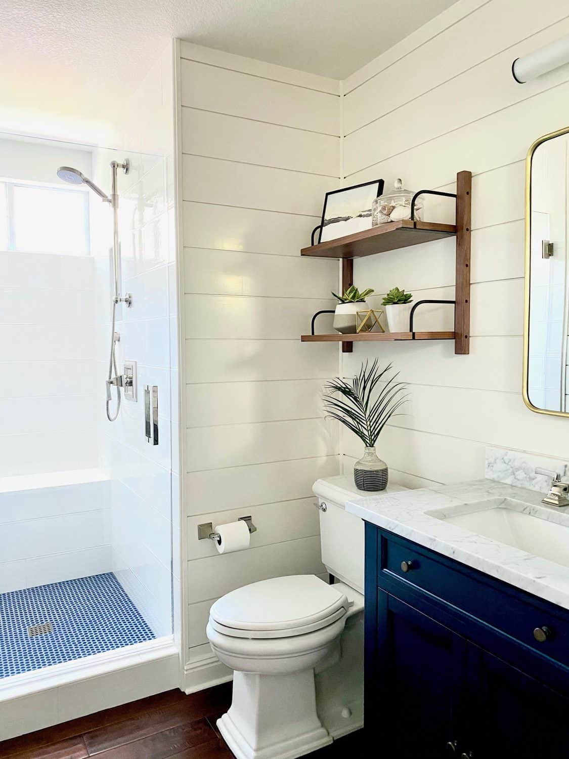 Designer Mary Ann Pickett'e Bathroom Makeover